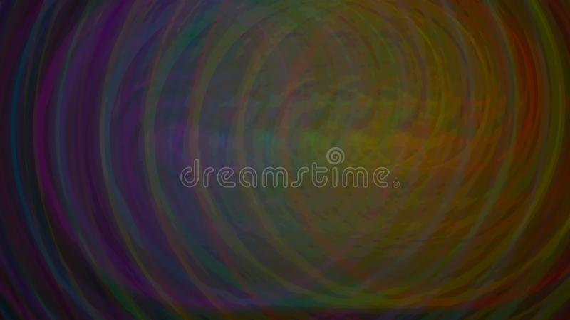 Círculos del cartel del fondo de la serie del arco iris stock de ilustración