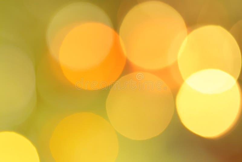 Círculos do borrão da luz - esboço do borrão fotos de stock royalty free