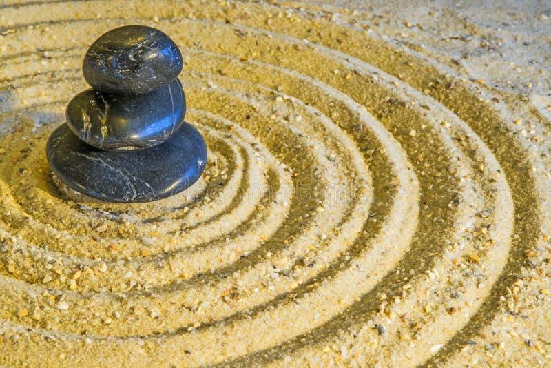 Círculos do zen foto de stock