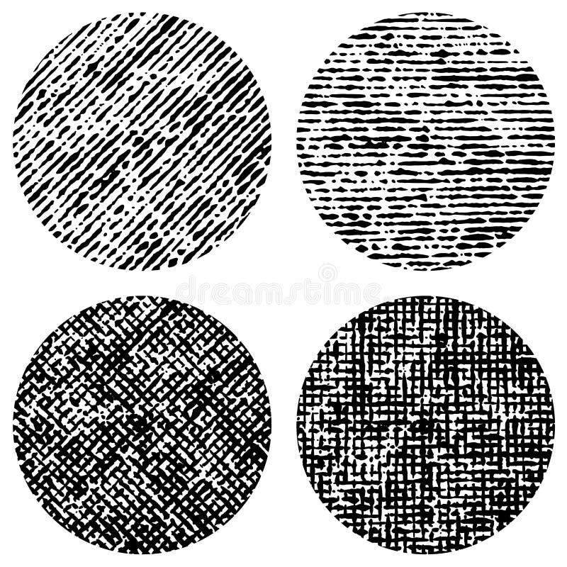 círculos Movimiento del cepillo Ilustración del vector libre illustration