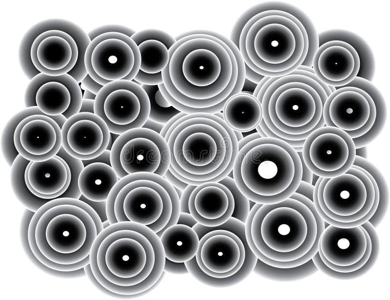 Círculos pequeños y grandes lindos libre illustration