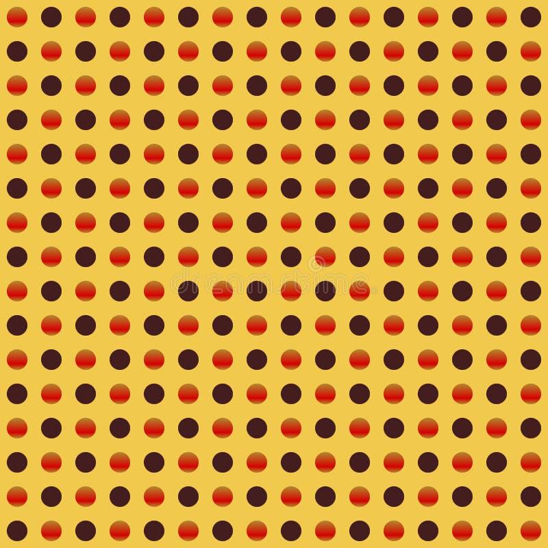 Círculos repetibles, modelo de puntos Textura colorida/multicolora libre illustration