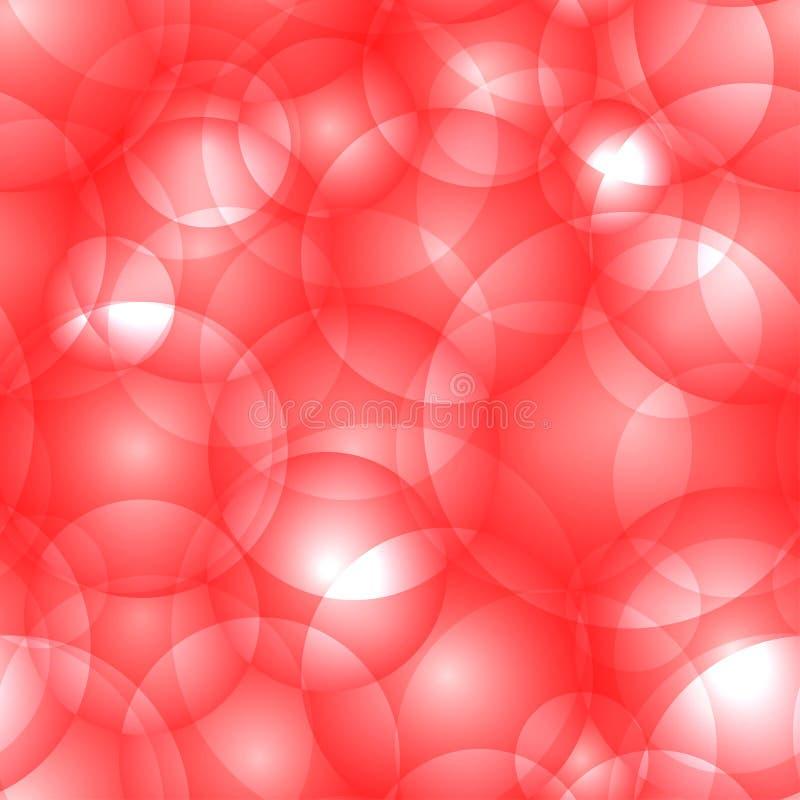Círculos y bolas ligeros de intersección de la sangre libre illustration