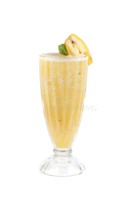 Cóctel del plátano imágenes de archivo libres de regalías