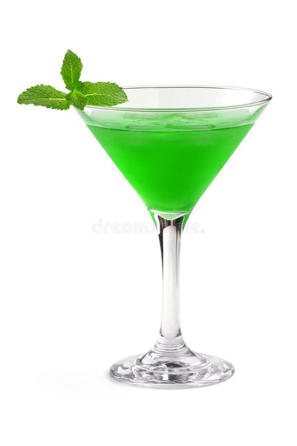 Cóctel verde imagen de archivo