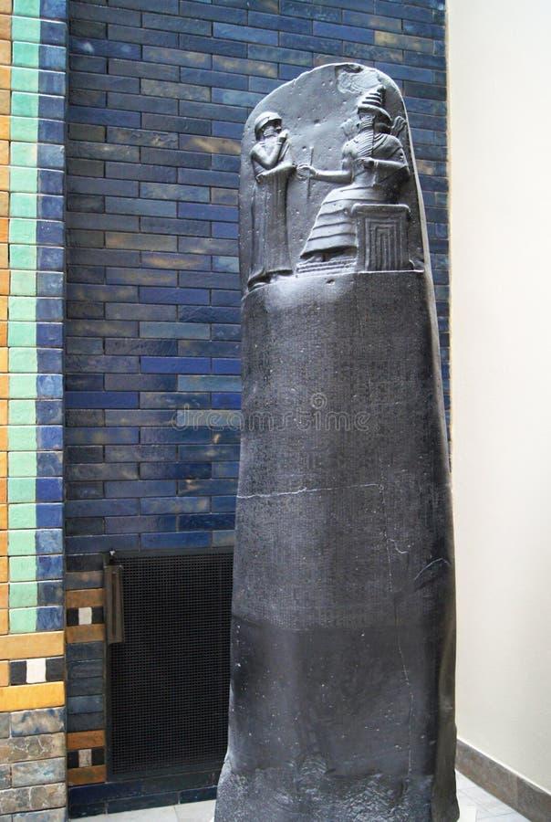 Códice Berlín de Hammurabi fotografía de archivo libre de regalías