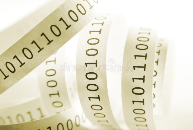 Código binário foto de stock