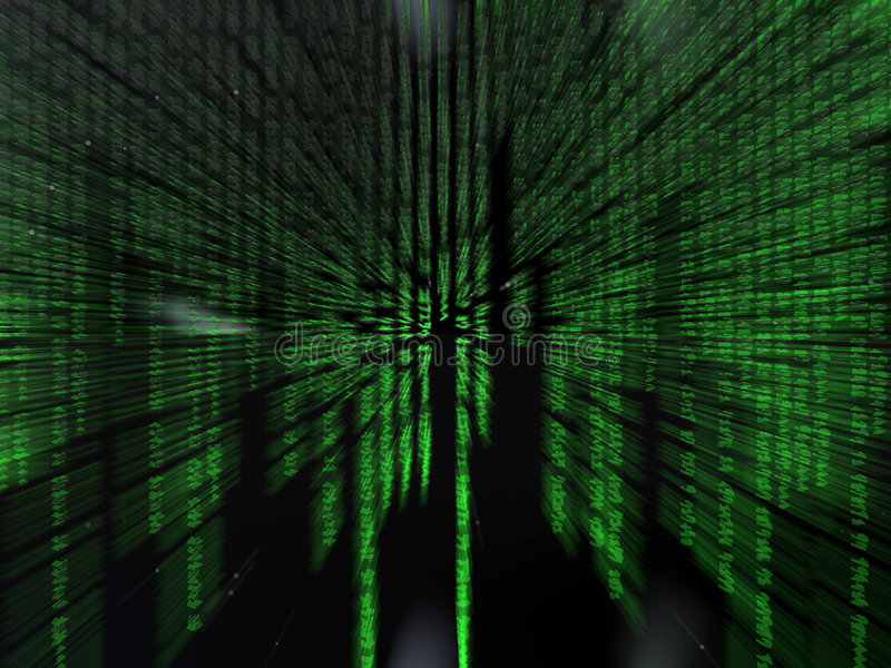 Código binario. libre illustration