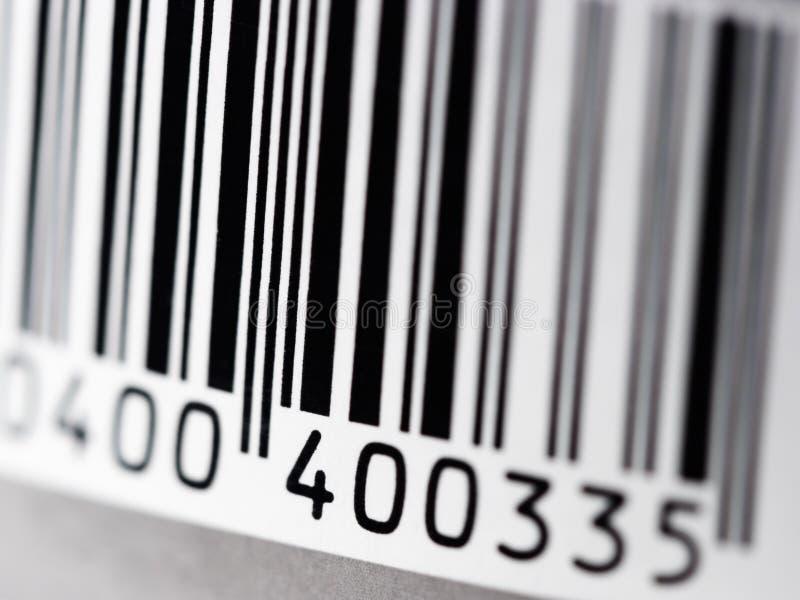 Código de barra fotografia de stock