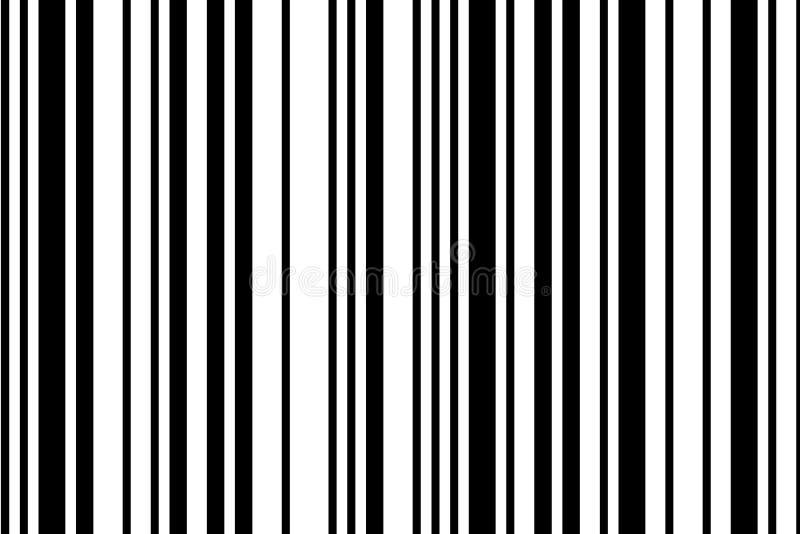 Código de barra ilustração do vetor