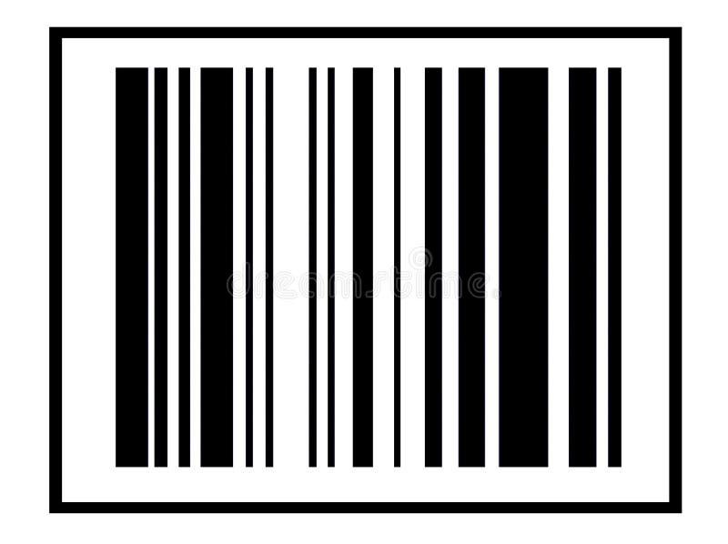Código de barras 3 ilustração do vetor