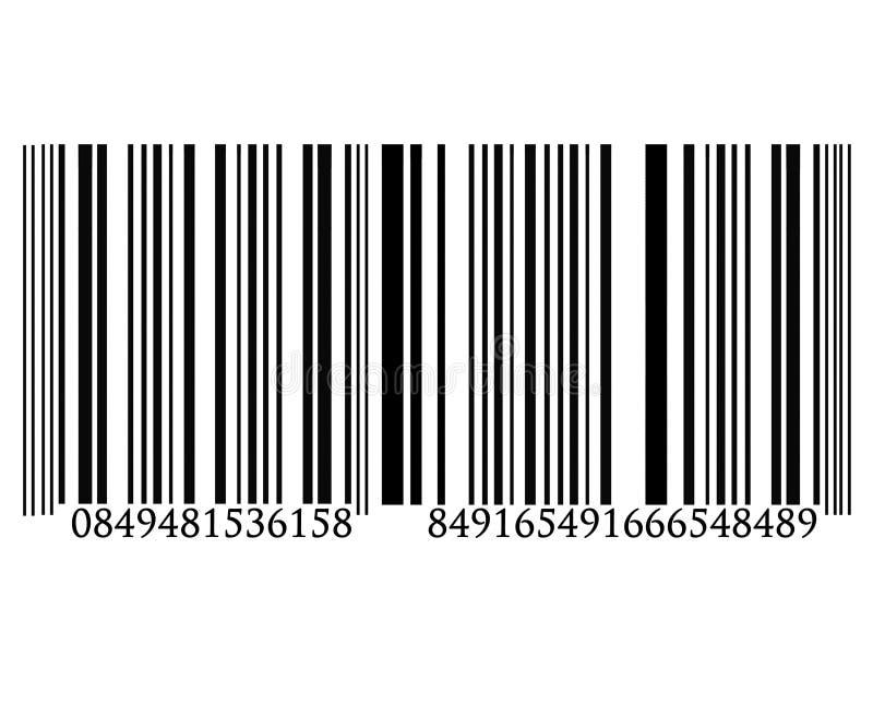 Código de barras ilustração do vetor