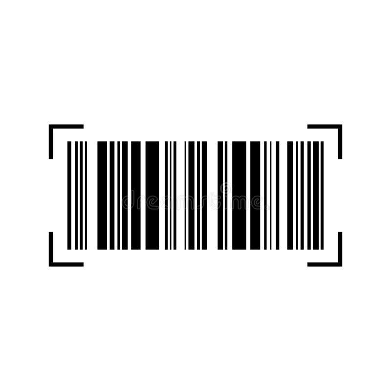 Código de barras común 6 del vector ilustración del vector