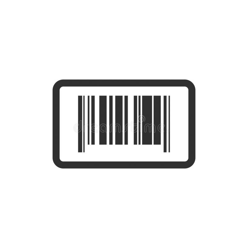 Código de barras conservado em estoque 2 do vetor ilustração royalty free