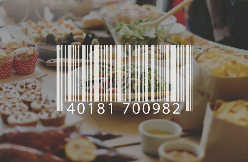 Código de barras Mark Sign Market Item Concept foto de archivo libre de regalías