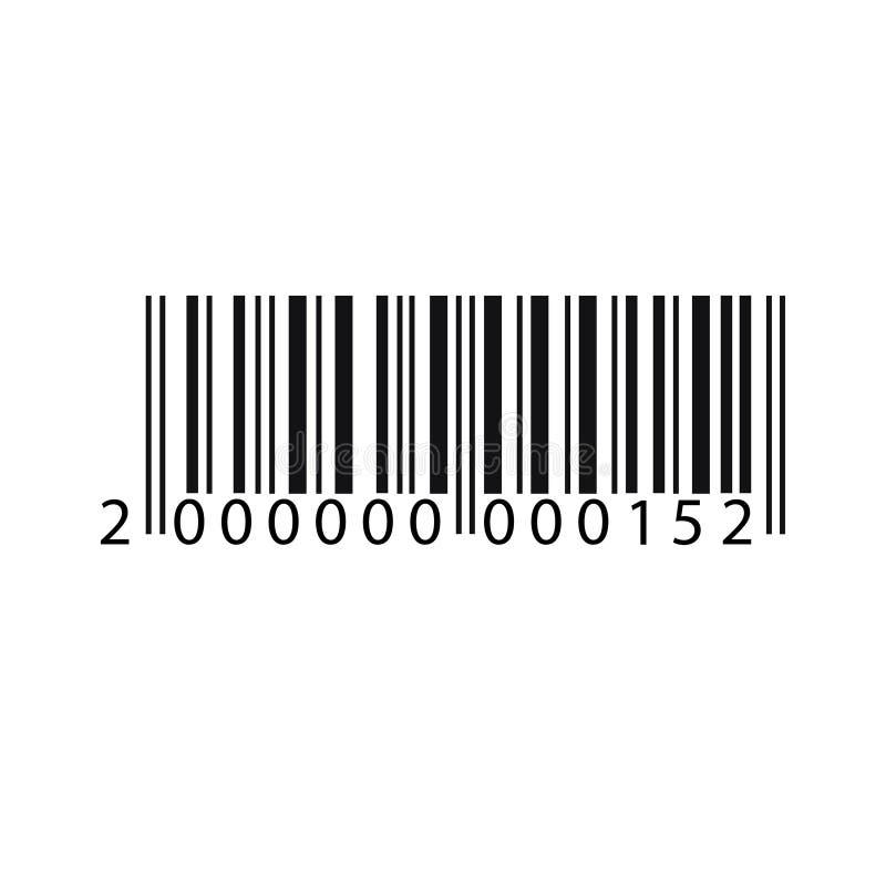 Código de barras para algumas coisas ilustração royalty free