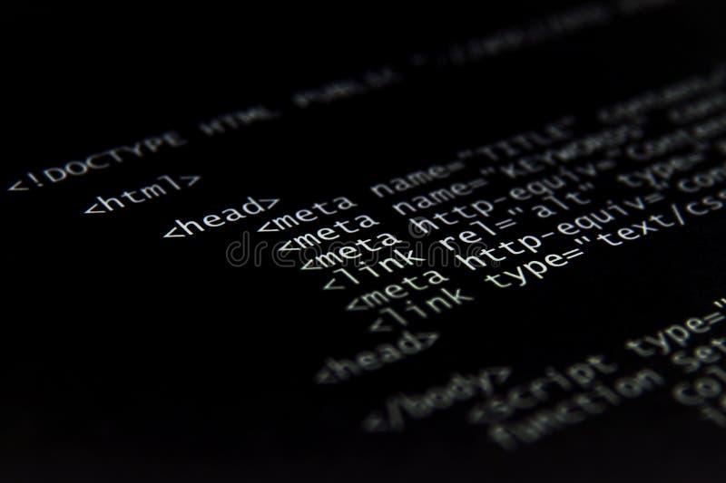 Código do HTML do Internet