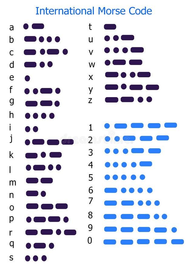 Código Morse libre illustration