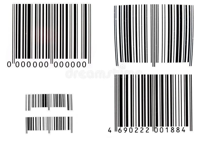 Códigos de barra ilustração do vetor