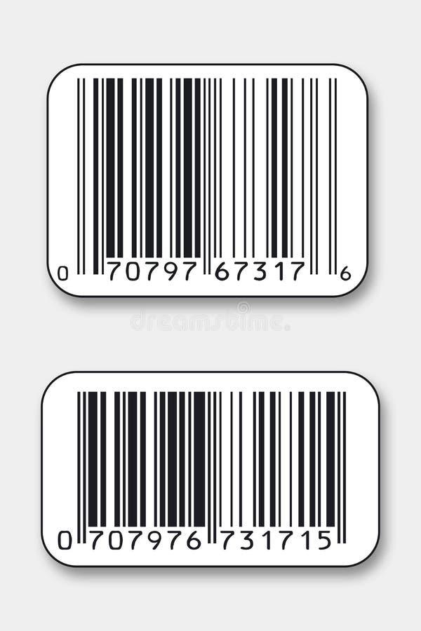 Códigos de barras imagen de archivo libre de regalías