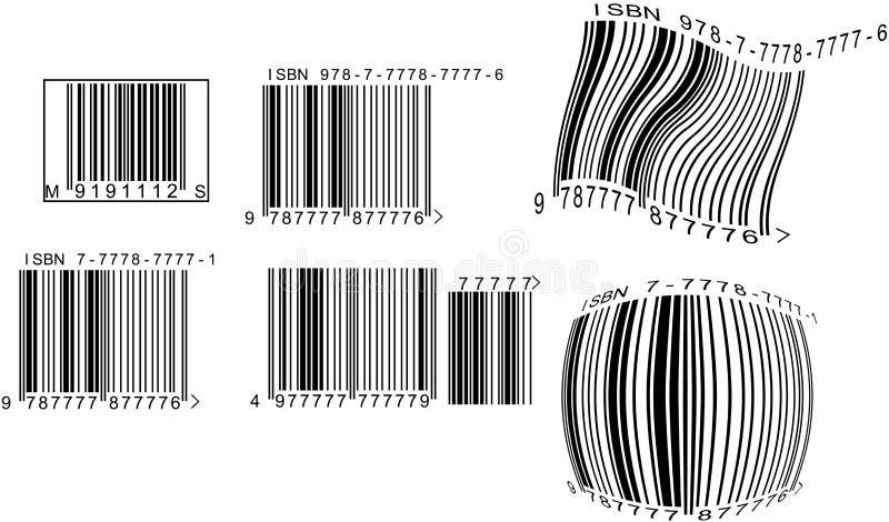 Códigos de barras libre illustration