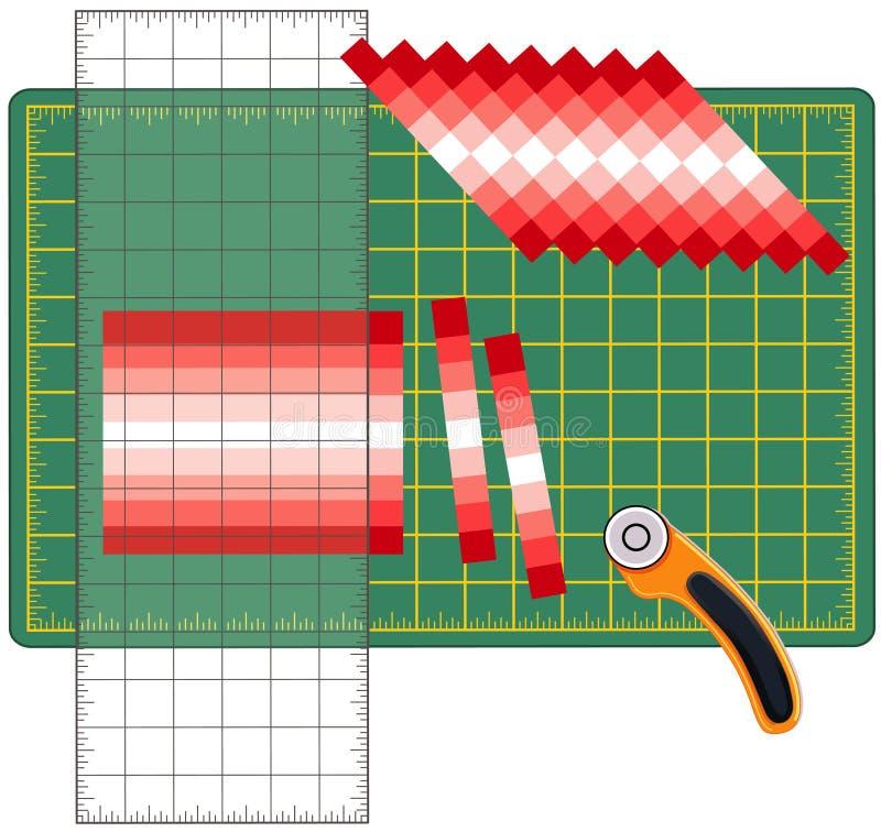 Cómo crear el remiendo stock de ilustración