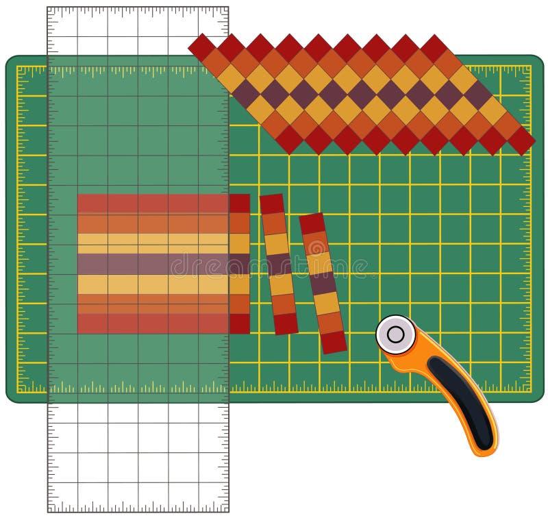 Cómo crear el remiendo ilustración del vector
