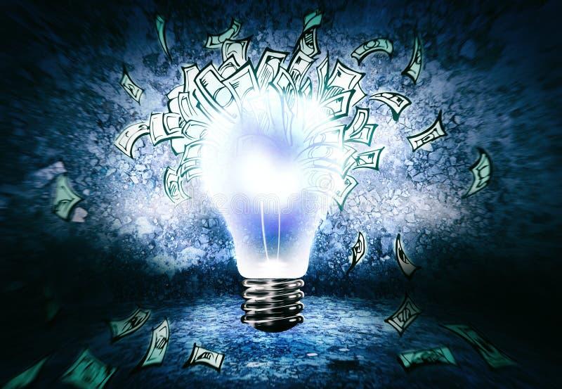 ¿Cómo ganar el dinero? imagen de archivo