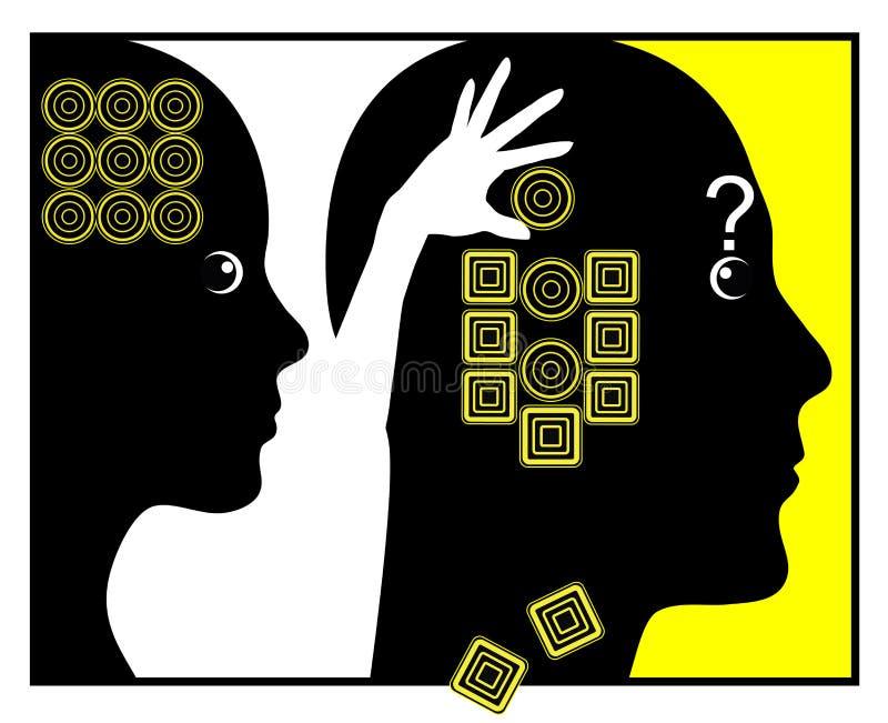 Cómo las mujeres cambian a hombres libre illustration