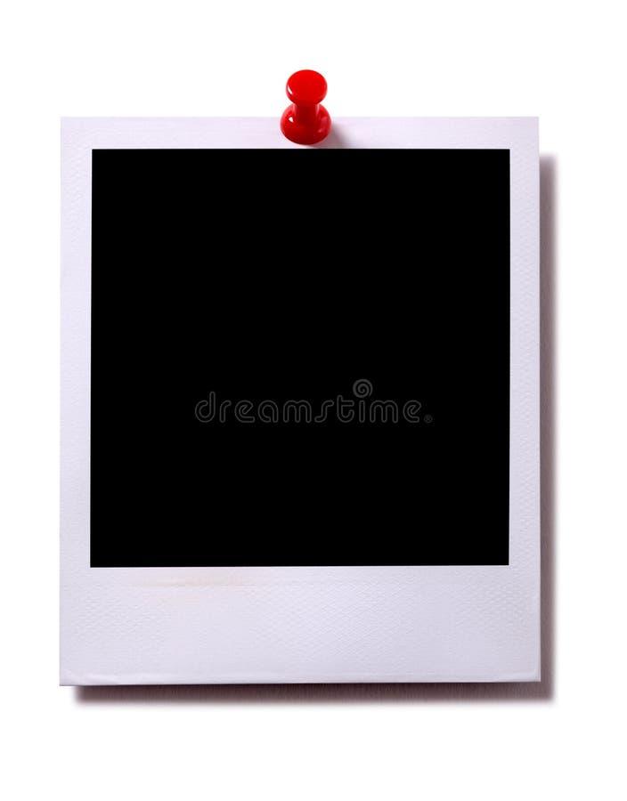 Cópia da câmera instantânea com sombra fotos de stock