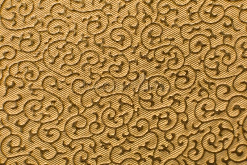 Cópia da textura do couro de Brown como o fundo foto de stock royalty free