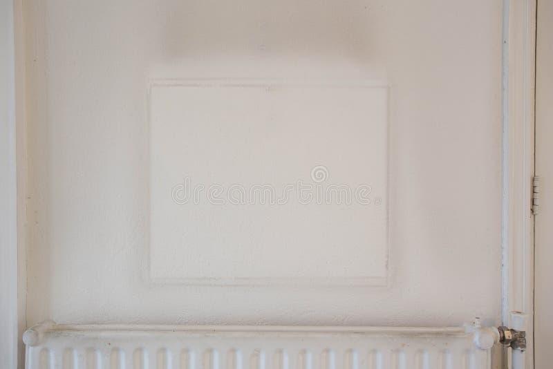Cópia do quadro no papel de parede sujo velho imagens de stock