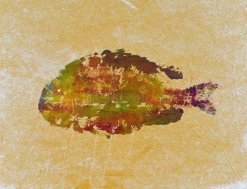 Cópia 9 dos peixes de Goyutaku foto de stock