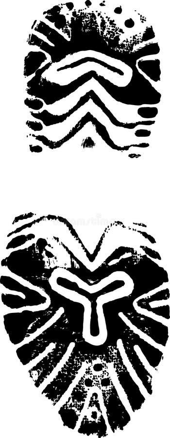 Cópia fêmea da sapata   ilustração royalty free