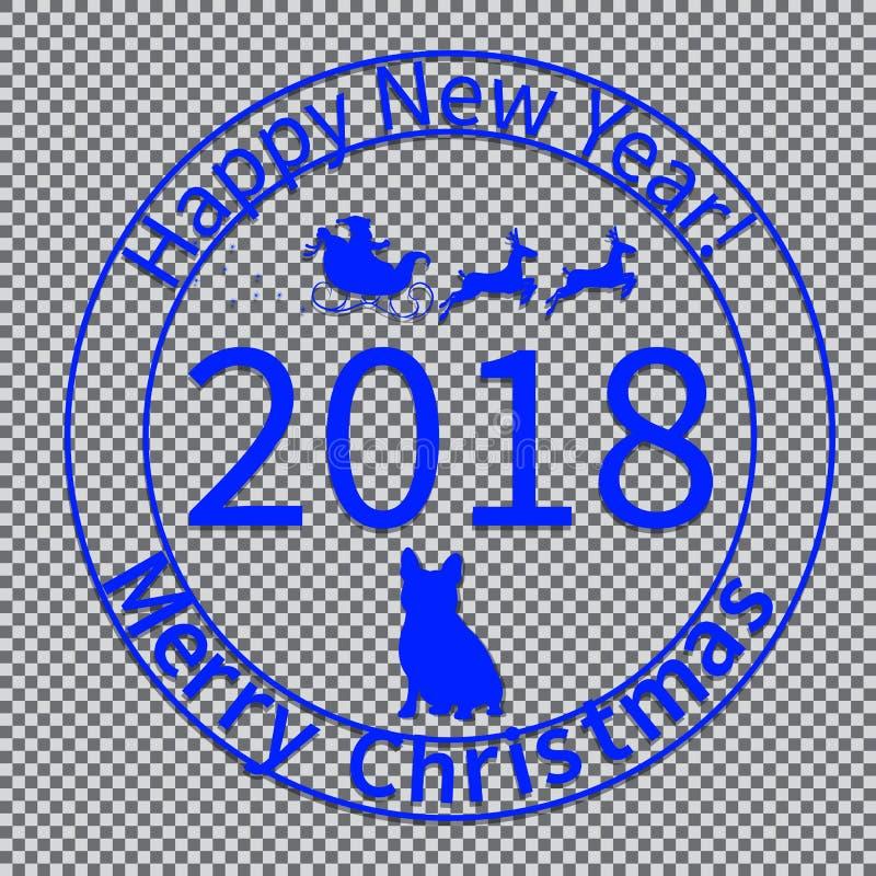 Cópia para o Natal envelopes-05 ilustração royalty free