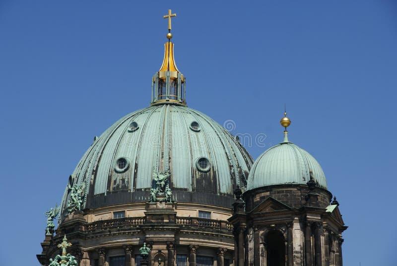 Cópula de la iglesia en Berlín foto de archivo libre de regalías