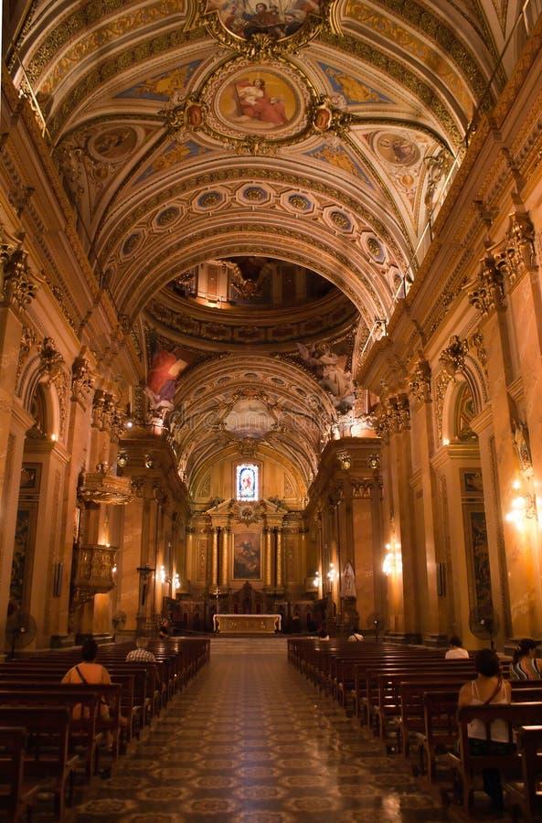 Córdoba-Kathedrale, Argentinien lizenzfreie stockbilder