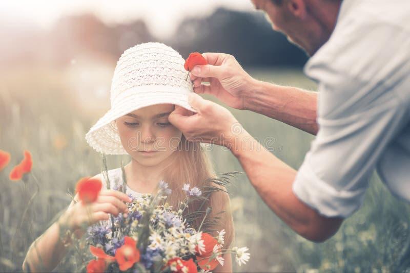 córka ojciec jego zdjęcie royalty free