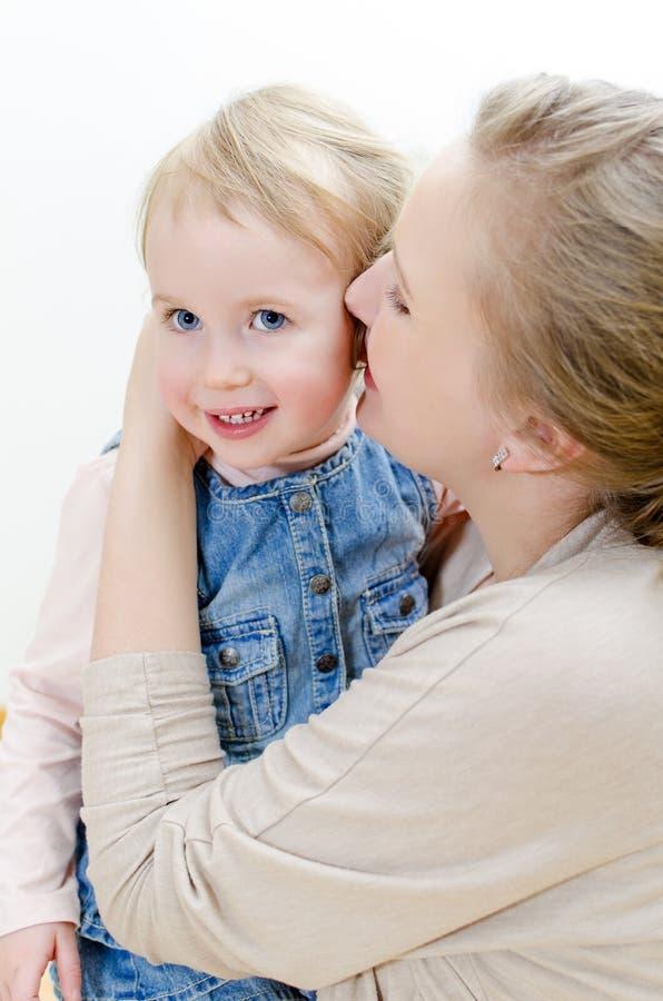 córki kobieta jej target291_1_ sekretów zdjęcia royalty free