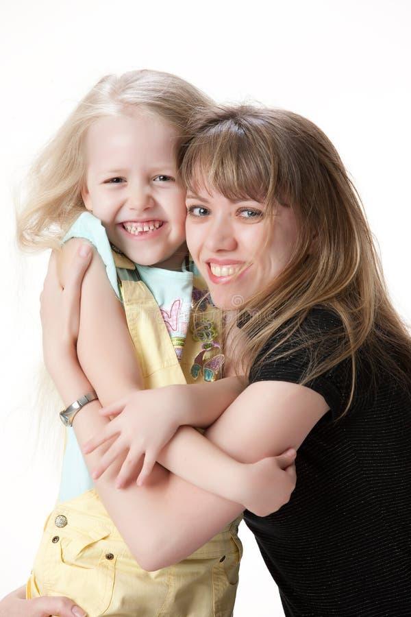 córki matka fotografia royalty free