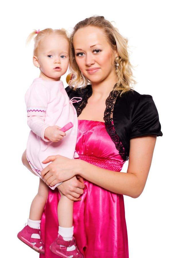 Download Córki matka zdjęcie stock. Obraz złożonej z studio, mienie - 13328396