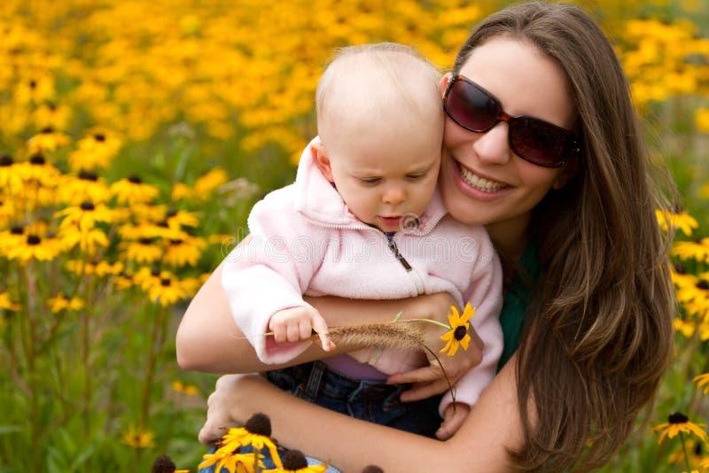 córki matka zdjęcie royalty free