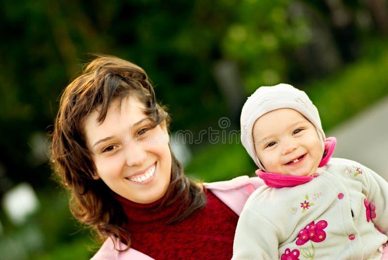 córki matka obraz royalty free