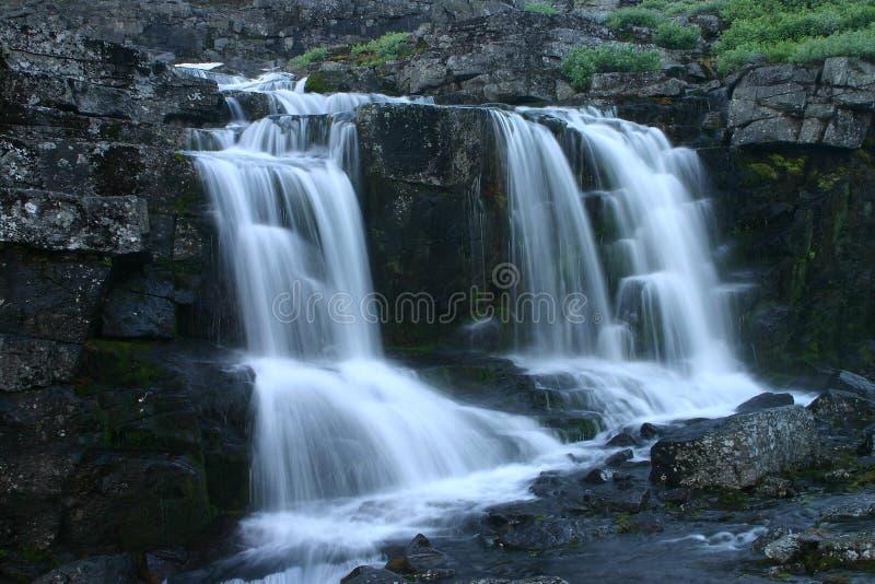 Córrego áspero da montanha imagens de stock