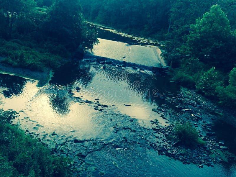 Córrego da cachoeira imagem de stock royalty free