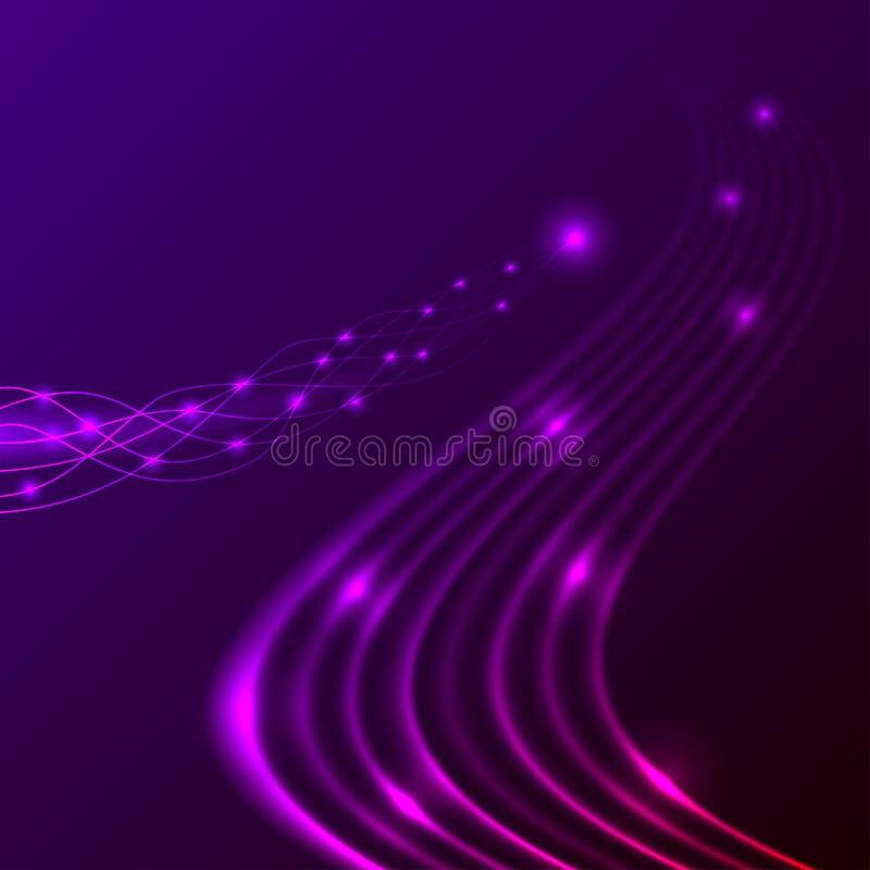 Córrego da energia ilustração do vetor