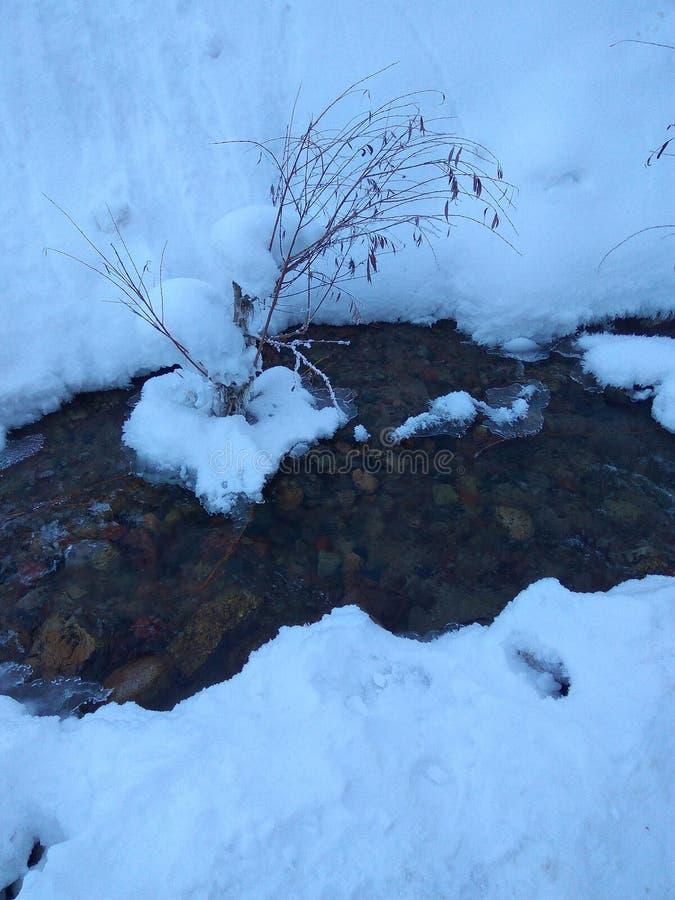 Córrego 2 da montanha imagens de stock