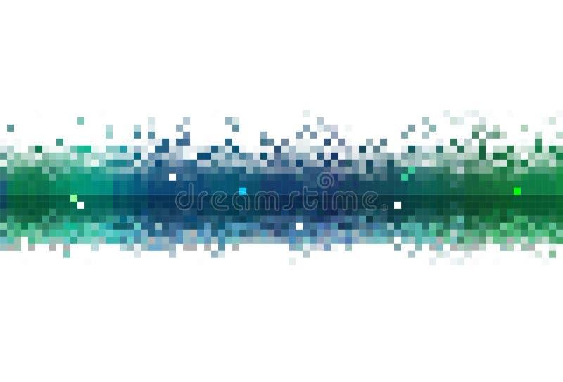 Córrego de dados abstrato ilustração royalty free