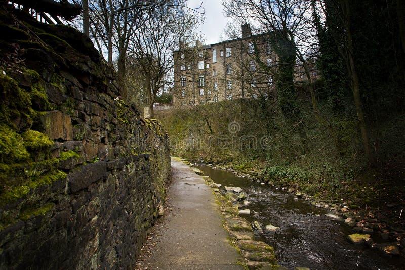 Córrego de Holmfirth imagens de stock royalty free