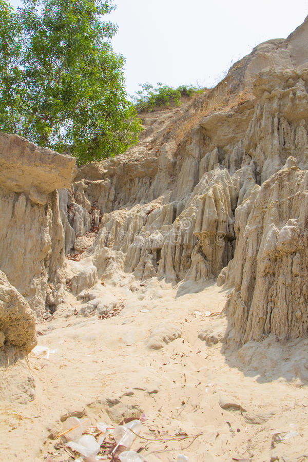 Córrego feericamente (Suoi Tien) foto de stock royalty free